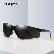 Fuqian 2021 nova moda esporte óculos de sol das mulheres dos homens elegante correndo pesca caminhadas óculos de sol óculos de proteção do vintage uv400