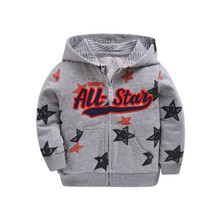 Baby Boys Girls Hooded Sweatshirts Cotton Cartoon Tops Truck Flower Whale Outwear Kids Clothes for 9m-3years