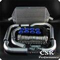Интеркуллер FMIC Kit подходит для Toyota Celica 2 0 Turbo GT4 ST185(89-94) ST205 93-99 черный/синий/красный