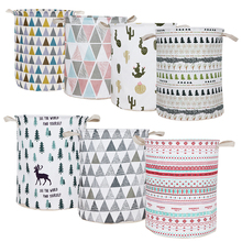 Foldable Clothing Laundry Basket Bag Large Capacity Laundry Basket Waterproof Clothes Storage Bag Children Toy Storage Bucket