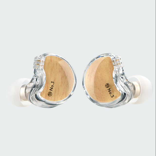 TFZ/No.3 Third Generation Unit In-Ear Headphones, Dynamic Driver 0.78 mm 2pin IEMs Transparent HiFi Detachable headphone 5