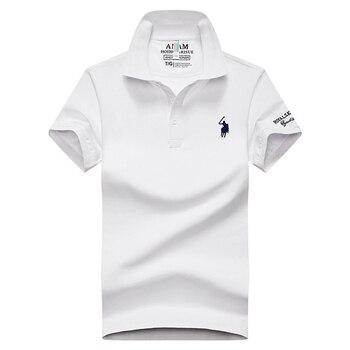 Summer Polo Shirt For Men Short Sleeve Classic Polos Shirts Casual Men Cotton Polo Shirt Men Clothing Fashion Slim Fit Tops