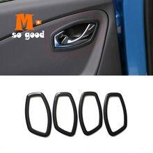 Автомобильный Стайлинг крышка отделка наклейка Внутренняя дверь