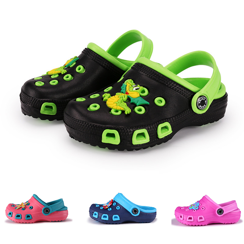 Fashion Kids Slippers Boys Girl Garden Shoes Beach Slippets Children Cartoon Sandal Baby Spring Summer Sandals Toddler Slippers