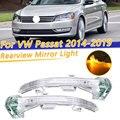COOYIDOM автомобильный боковой зеркальный светильник заднего вида для VW Passat 2014 2015 2016 2017 2018 2019 3G0949101 3G0949102 указатель поворота