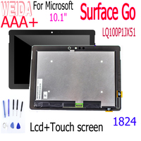 WEIDA 10.1 For Microsoft Surface go 1824 Touch Screen Digitizer Glass Lcd Display Assembly Surface go LQ100P1JX51 LCD