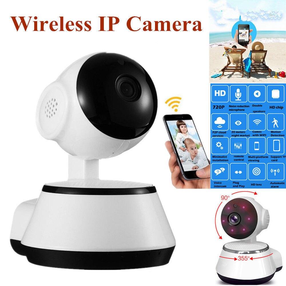 Caméra IP de sécurité à domicile 720P HD Wifi caméra de Surveillance sans fil 3.6mm objectif grand Angle caméra intérieure soutien dôme de Vision nocturne