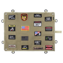 Storage display poster armor armband finishing cloth wall hook Tactical Morale military Patches Army Embroidery