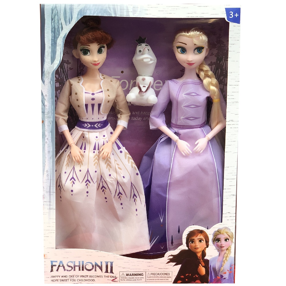 Frozen 2 Elsa Anna Princess Toys Frozen 11 Joint Movable Figure Olaf Dolls Toys For Children Christmas Gift