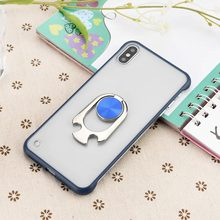 KISSCASE Bottle Opener Ring Holder Case For iPhone XR X XS MAX Luxury Frameless Phone 6 6S 7 8 Plus TPU+PC Cover