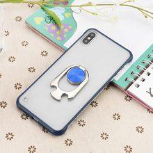 KISSCASE otwieracz do butelek pierścień Holder Case dla iPhone XR X XS MAX luksusowe bezramowe etui na telefony dla iPhone 6 6S 7 8 Plus TPU + PC pokrywa