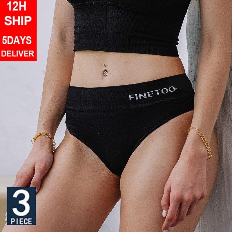 Yüksek bel külot kadın iç çamaşırı vücut şekillendirici külot kadın külot seksi iç çamaşırı G-string Pantys düz renk artı boyutu M-2XL