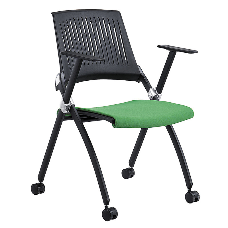 University With Writing Board Training Table And Chair Folding Conference Chair Mesh Office Chair