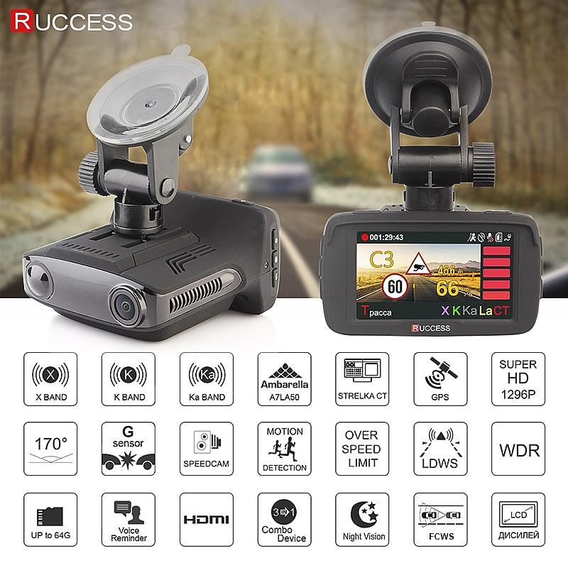 Ruccess 2.7 Anti Rivelatore Auto Del Radar per La Russia con Il Gps Polizia Radar Della Macchina Fotografica 170 Gradi Auto Dvr Full Hd 1080P Video Recorder - 2