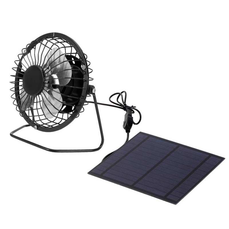 celulas solares 5w mini painel solar com ventilador de refrigeracao portatil fotovoltaico painel solar conjunto para