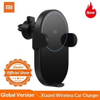 Chargeur de voiture sans fil Xiaomi mi 20W MAX avec capteur infrarouge Intelligent support pour téléphone de voiture de charge rapide