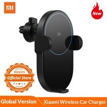Globale Version Xiaomi mi 20W MAX Drahtlose Auto Ladegerät mit Intelligente Infrarot Sensor Schnelle Lade Auto Telefon Halter