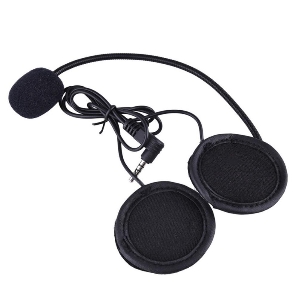 Make Calls Portable Headset Outdoor Tools Lightweight Motorcycle Helmet Intercom For V4/V6 Bluetooth Interphone
