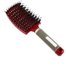 Pop brosse detangling escova de cabelo pente para dropshipping detangler escova de cabelo pente de massagem para salão de beleza cabeleireiro estilo
