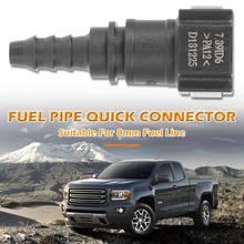 Топливопровод Quick Release соединитель шланг для машины муфта 8 мм гнездовой разъем Conveninently быстрая и простая установка