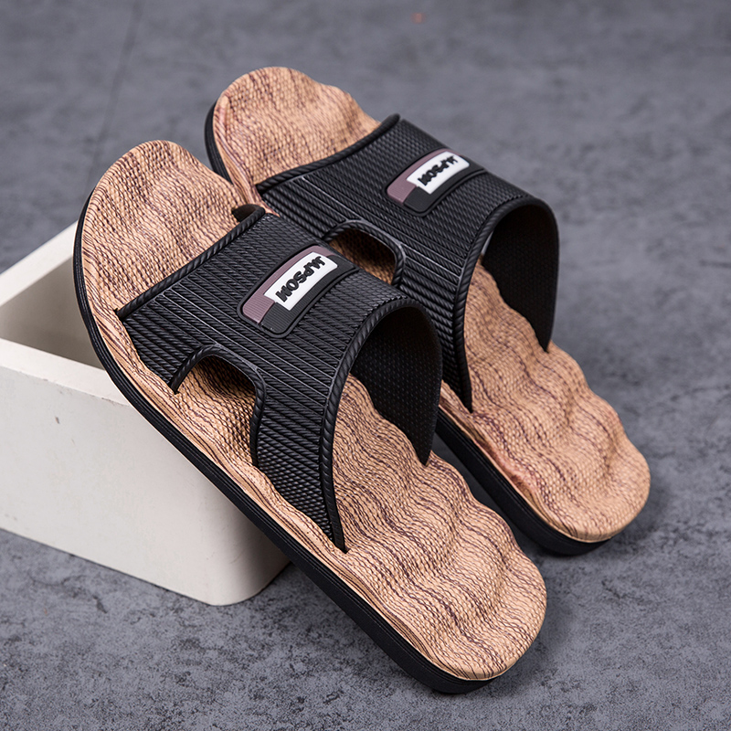 2020 Home Sandals Men Big Size 39-47 Slippers Summer Brand Soft Breathable Beach Slippers Men Casual Cross Outdoor Slides