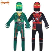 Ninja Costume Kids Costumes Halloween Costumes for kids Ninjago Costume Boys Halloween Dress Cosplay Superhero Jumpsuits Suits
