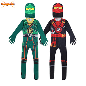 Image 1 - Ninja Costume Kids Costumes Halloween Costumes for kids Ninjago Costume Boys Halloween Dress Cosplay Superhero Jumpsuits Suits