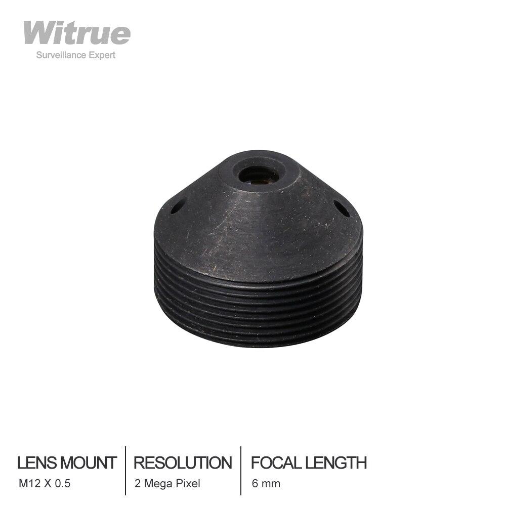 HD Cctv Lens Pinhole 6MM  M12*0.5 Mount 1/3