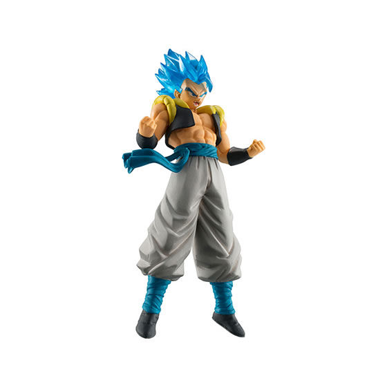 "Image 2 - Original Bandai HIGH GRADE REAL FIGURE Gashapon PVC Toy 02   Full Set 5 PCS Broly Goku Gogeta Whis ""Dragon Ball SUPER""Action & Toy Figures   -"