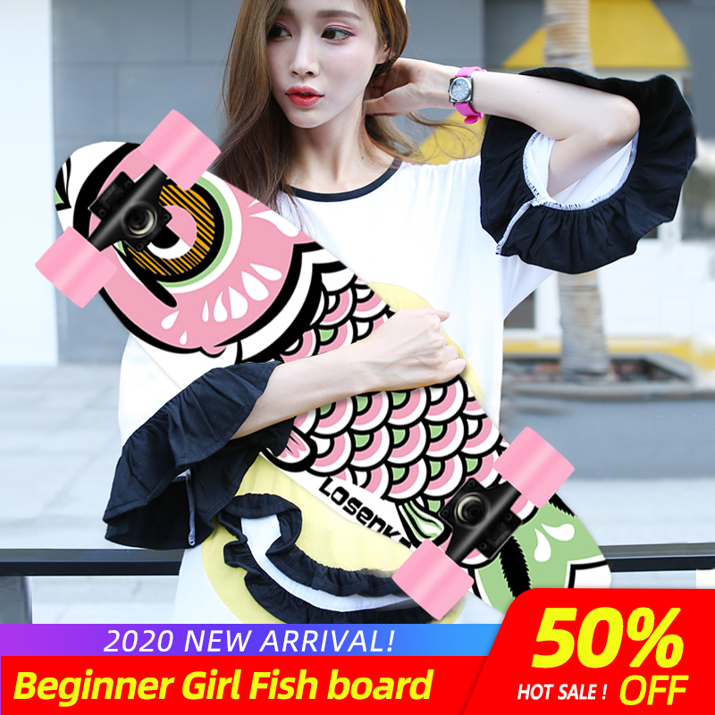 MS501 Short Fish Board For Girl&Boy 13 Colors