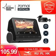 70mai A800S Dash Cam 4K GPS incorporato ADAS Real 70mai 4K A800 Camera UHD Cinema-qualità immagine 24H parcheggio anteriore e posteriore Cam 140FOV