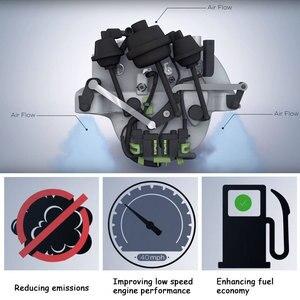 Image 5 - Un Set di PA66 Nylon 66 Collettore di Aspirazione Aria Flap Runner Kit di Riparazione per Mercedes Benz C350 E350 ML350 R350 oe 2721402401 EA080