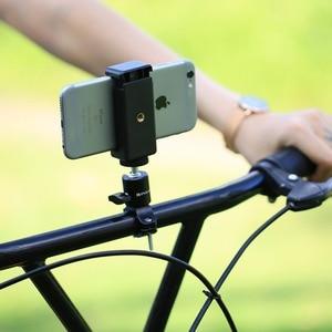 Image 5 - 1/4 Camera DV DSLR Bike Bicycle Handlebar Clamp Bracket Tripod Mount Screw Clip For Camera DV for Gopro