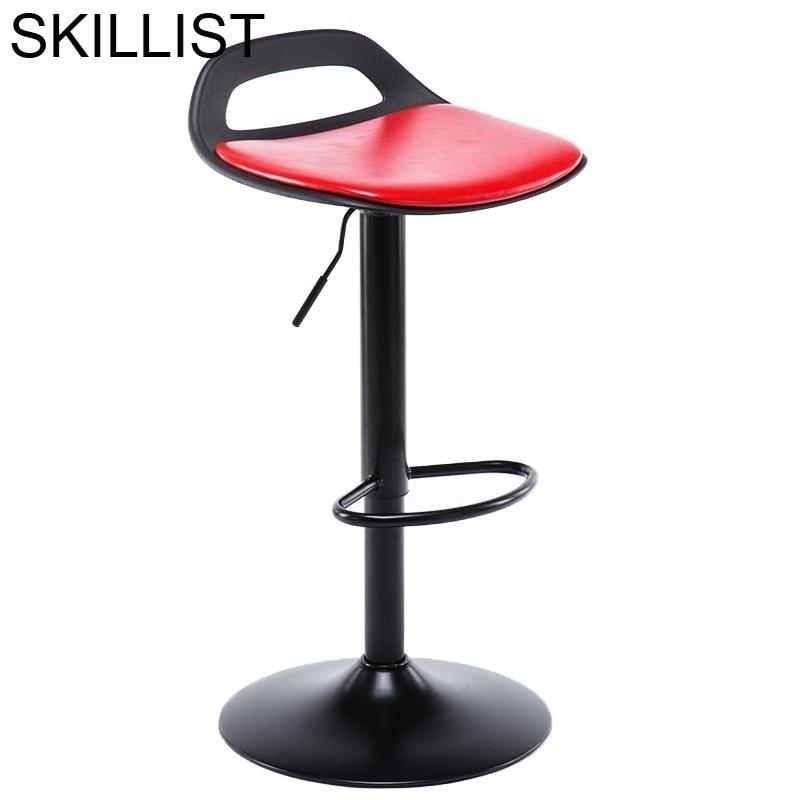 Sandalyesi Barstool Bancos Moderno Comptoir Banqueta Sgabello Cadir Leather Tabouret De Moderne Cadeira Stool Modern Bar Chair