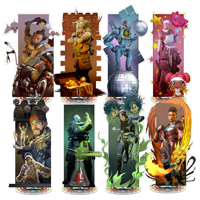 <font><b>Apex</b></font> legends <font><b>Toy</b></font> Height 21cm Anime Action Figure <font><b>Toy</b></font> Acrylic Decorative Ornaments Creative Gift image