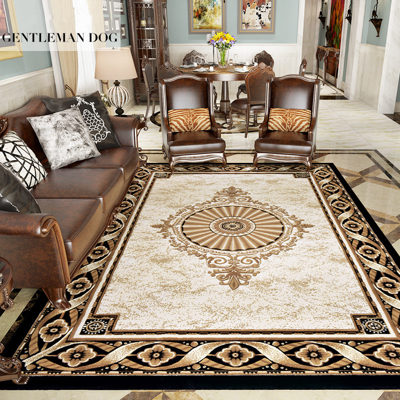Elegant Villa Carpets For Living Room Home Bedroom Carpet Thick Sofa Coffee Table Rug Kids Room Area Rugs Cloakroom Floor Mat