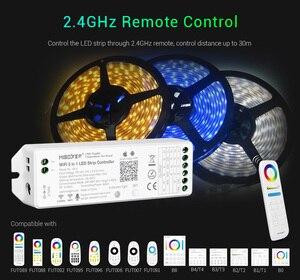 Image 4 - Milight WL5 Wifi Led Controller Voor Rgb Rgbw Cct Enkele Kleur Led Strip Licht Tape Amazon Alexa Voice Telefoon App afstandsbediening