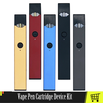 Original Vape Pen Battery Device Kit With 0.7ml Empty Cartridge Cotton Coil 270mAh Battery Vape Device Fit JUUL Pods 3pcs iot ibeacon biuetooth 4 0 wateproof iow energy kit beacon biuetooth moduie receiver proximity device with battery