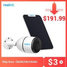 Reolink 4G LTE caméra GO 1080p starlight vision nocturne travail avec carte SIM étanche Rechargeable batterie alimenté caméra ip