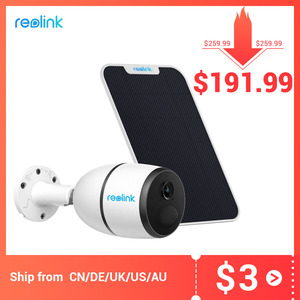 Image 1 - Reolink 4G LTE camera GO 1080p starlight night vision work with SIM card weatherproof Rechargeable Battery Powered ip camera