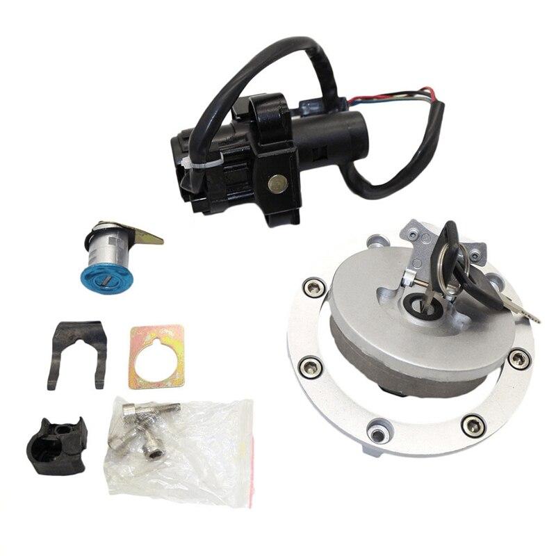 Ignition Switch Lock Fuel Gas Tank Cap Cover Seat Handle Locks For Honda CB400 SF 1992-1998 CB-1 VFR400 VT250 CB750