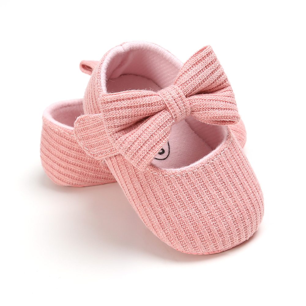Baby Girls Cotton Shoes Retro Spring Autumn Toddlers Prewalkers Cotton Shoes Infant Soft Bottom First Walkers 0-18M 4