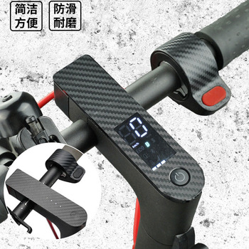 Electric Scooter Central Controller Accelerator Sticker Carbon Fiber Protective Film for Xiaomi M365 M365Pro Scooter Accessories image