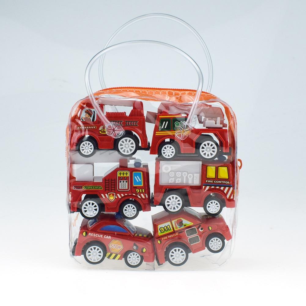 6 Fire truck