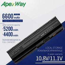 Apexway 593553-001 MU06 for HP Laptop Battery CQ42 CQ43 CQ56 for HP Pavilion G4 G6 G7 DV6 DV7 DM4 MU09 MU06 Notebook Battery apexway 6cells battery for hp pavilion g6 battery g4 g6 g7 g62 g62t g72 mu06 hstnn ubow presario cq42 cq56 cq62