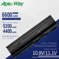 Apexway 593553-001 MU06 for HP Laptop Battery CQ42 CQ43 CQ56 for HP Pavilion G4 G6 G7 DV6 DV7 DM4 MU09 MU06 Notebook Battery