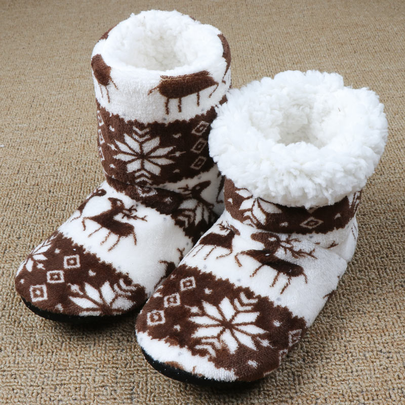Winter Fur Womens Warm House Slippers