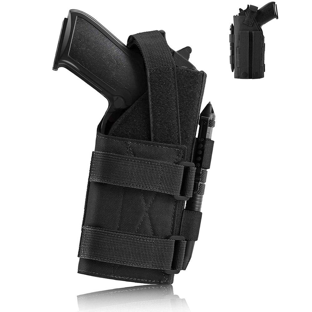 Funda táctica ajustable para pistola, Funda Universal para 1911 45 92 96 Glock 19 Sig P228 Heckler & Koch USPCZ P-10C