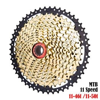 ZTTO MTB 11 Speed Cassette Bicycle Freewheel 11-46t 11-50t Mountain Bike Cassettes Compatible For SH XT SLX SRAM X1 X01 GX NX 1X