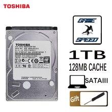 TOSHIBA disque dur interne HDD de 1000 pouces, avec une capacité de 2.5 go, 1 to, pour ordinateur portable, Cache de 5400 RPM, 128 mo, 7mm, sata 3, MQ04ABF100, Original